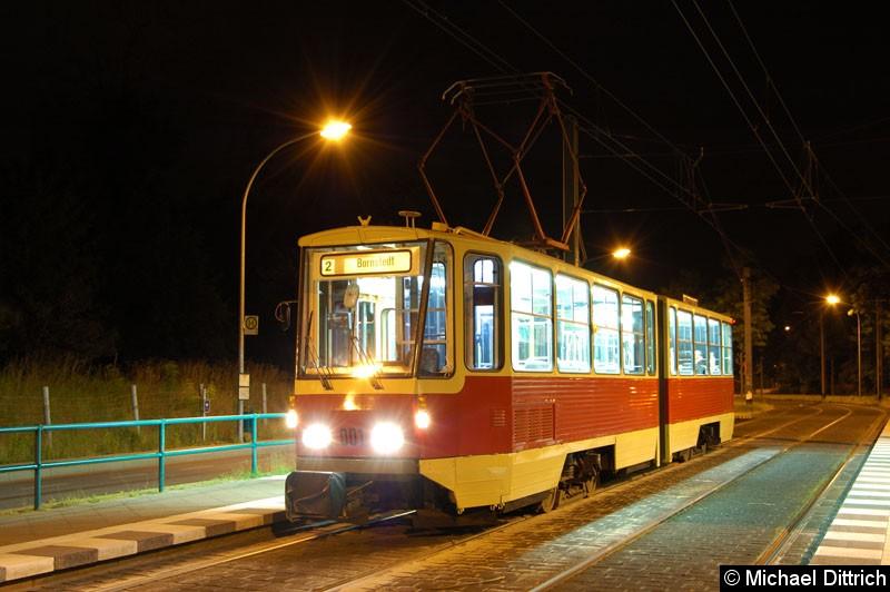 Bild: Fotohalt: Am Schragen.  Geschildert als Linie 2