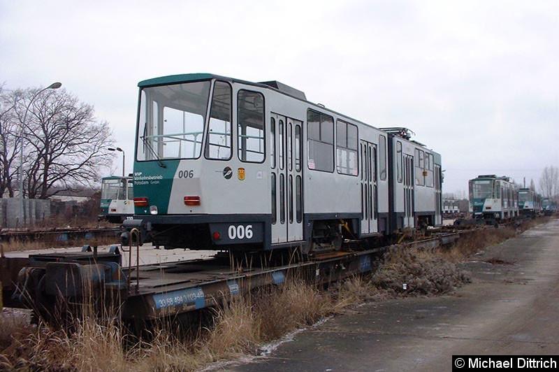 Bild: 006, der letzte nicht modernisierte KT4D.