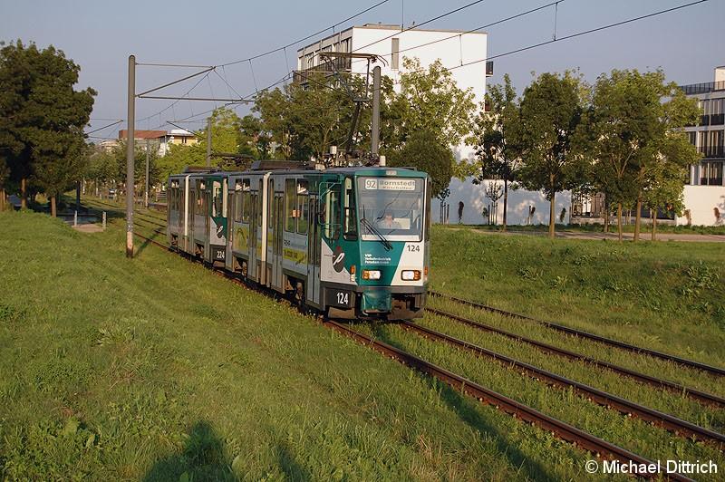Bild: 124 und 224 als Linie 92 in der Kiepenheuer Allee.