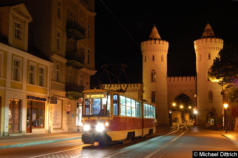 Bild: Fotohalt: Nauener Tor.  Geschildert als Linie 5