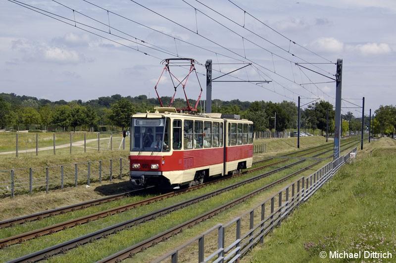 Bild: 001 als TRAMTours 2007 in der Kiepenheuer Allee.