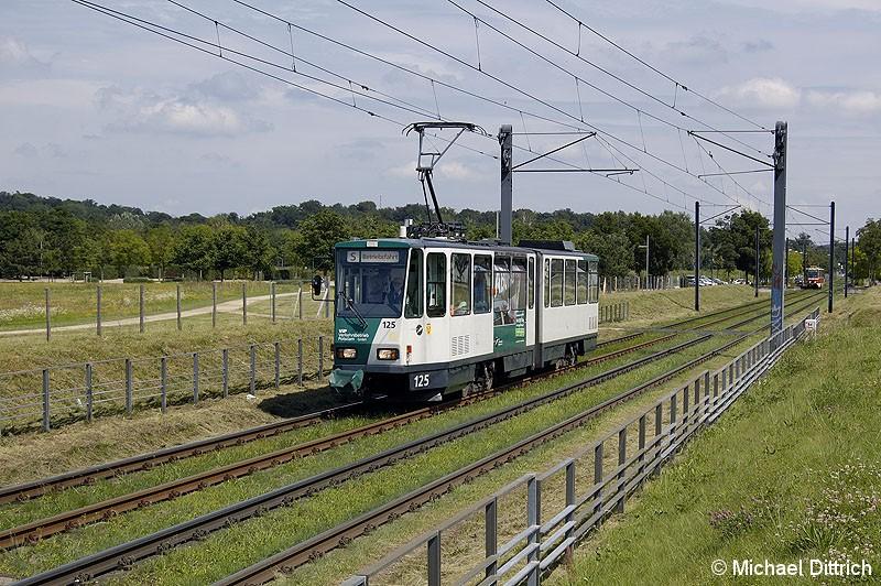 Bild: 125 als TRAMTours 2007 in Kiepenheuer Allee.