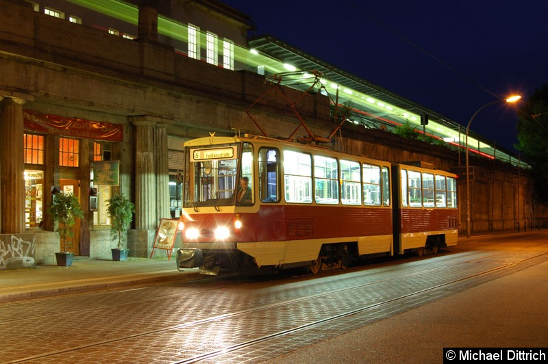 Bild: Fotohalt: S Babelsberg.  Geschildert als Linie 5