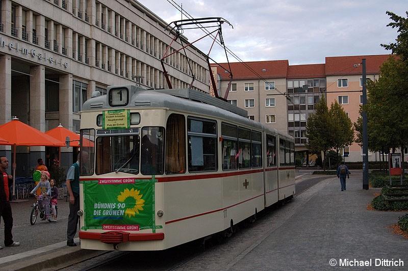 Bild: 177 als Werbewagen für die Partei