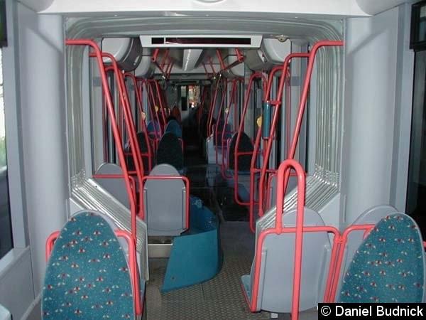 Bild: Blick in den Fahrgastraum.