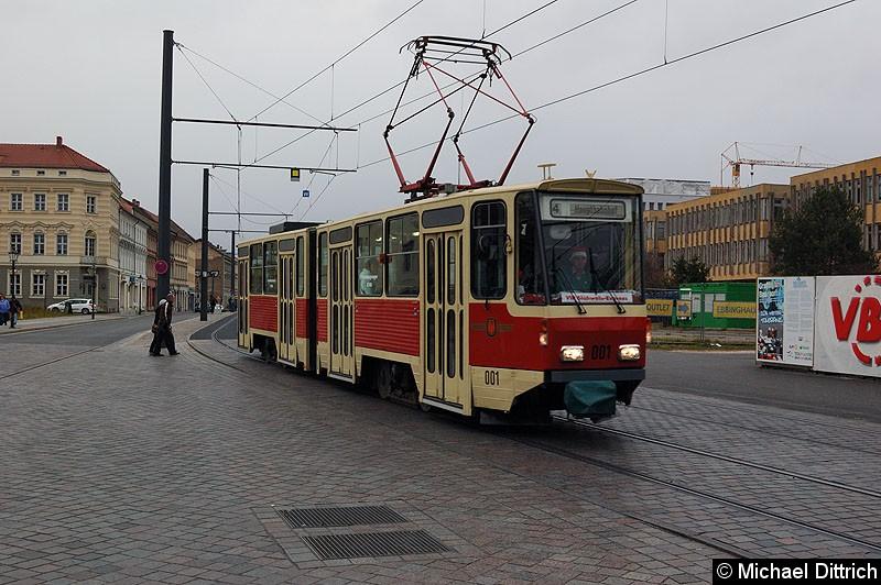 Bild: 001 als ViP Glühwein-Express am Alten Markt.