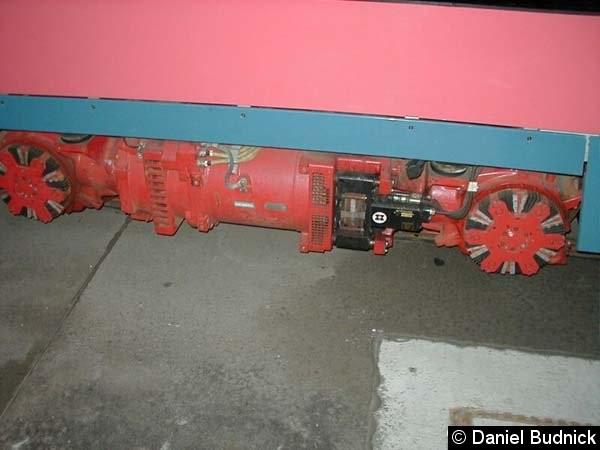 Bild: Blick auf den Radnabenmotor.