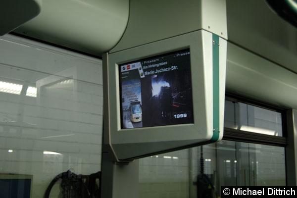 Bild: So sieht die neue Anzeige der Mobilinfo aus
