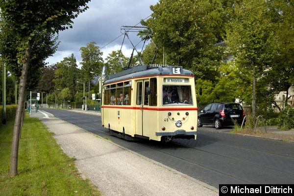Bild: Ein LOWA-Wagen aus Rostock zu Besuch in Potsdam